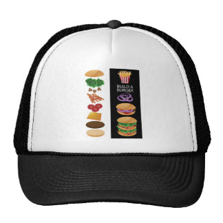 Build A Burger Trucker Hat