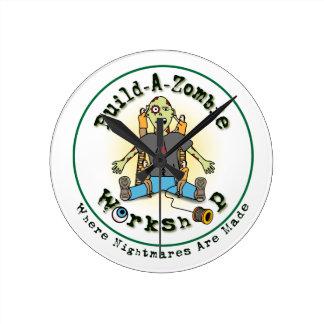 build a zombie round clock