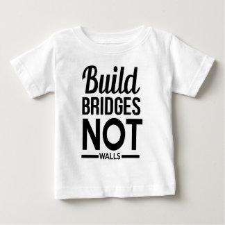 Build Bridges NOT Walls - USA Protest Immigrants Baby T-Shirt