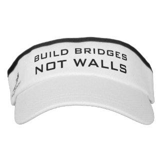 """""""Build Bridges Not Walls"""" visors"""