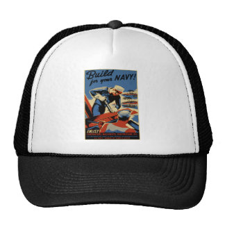 Build for your Navy Trucker Hat