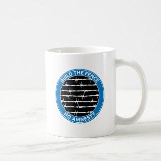 Build The Fence Coffee Mug