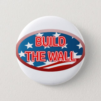 BUILD THE WALL 2 INCH ROUND BUTTON