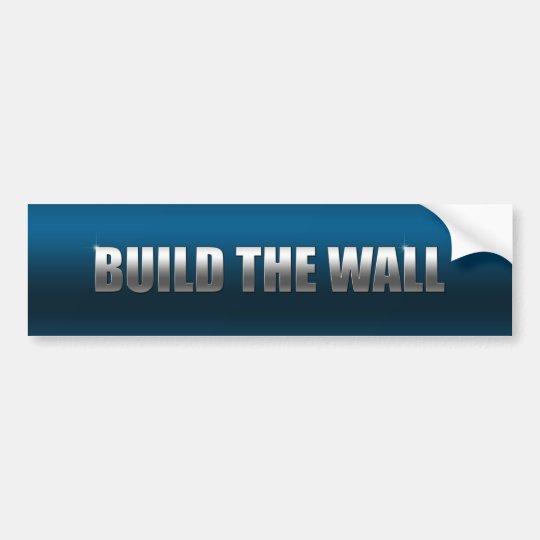 Build The Wall Bumper Sticker