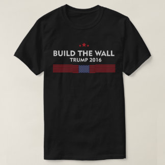 Build The Wall Trump 2016 T-Shirt