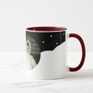 Build yourself a snowman mug