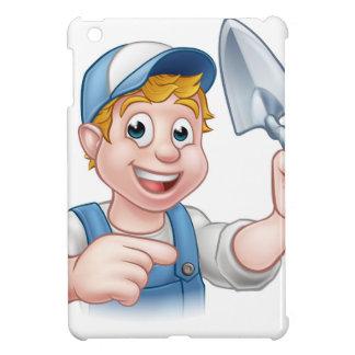 Builder Bricklayer Construction Worker Trowel Tool iPad Mini Case
