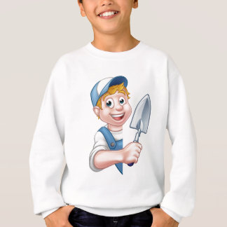 Builder Bricklayer Construction Worker Trowel Tool Sweatshirt