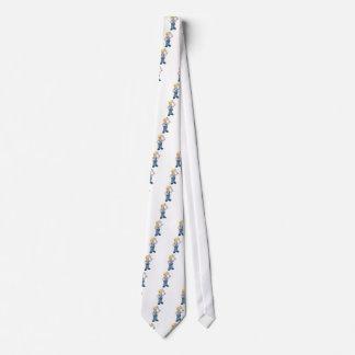 Builder Bricklayer Construction Worker Trowel Tool Tie