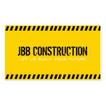 Builder Construction Architect Engineer Business Card
