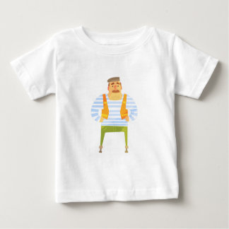Builder In Cap On Construction Site Baby T-Shirt