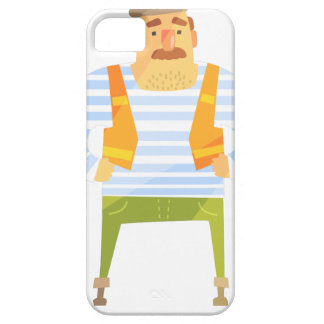 Builder In Cap On Construction Site Case For The iPhone 5