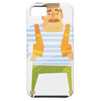Builder In Cap On Construction Site iPhone 5 Cover