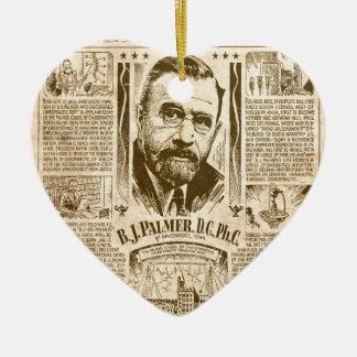 builders of america ceramic heart ornament