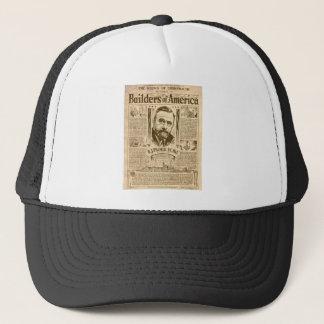 builders of america trucker hat