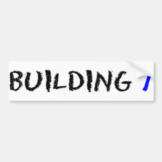 BUILDING 7 BUMPER STICKER