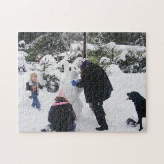 Building a Snow-Bunny Puzzle