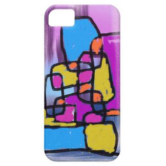 Building Blocks Blue Orange Pink Purple Yellow iPhone 5 Cases