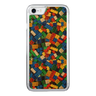 "Building Blocks Construction Bricks ""Construction Carved iPhone 8/7 Case"