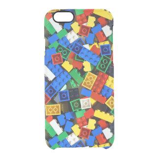 "Building Blocks Construction Bricks ""Construction Clear iPhone 6/6S Case"