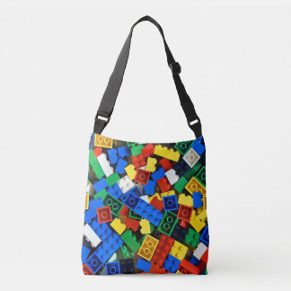 "Building Blocks Construction Bricks ""Construction Crossbody Bag"