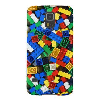 "Building Blocks Construction Bricks ""Construction Galaxy S5 Cases"