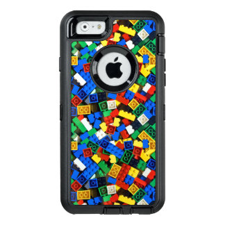 "Building Blocks Construction Bricks ""Construction OtterBox Defender iPhone Case"