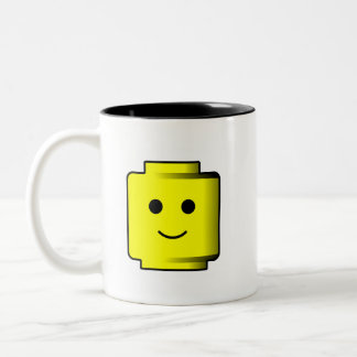 Building Blocks Head Mug