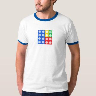 Building Bricks Mens Ringed T-Shirt