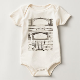 Building Bridges Baby Bodysuit