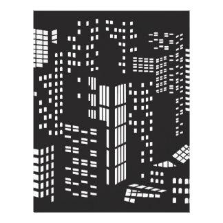 Building, buildings, structure, architecture, city personalized letterhead
