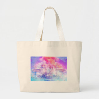 BUILDING CASTLES IN THE SKY 1 LARGE TOTE BAG