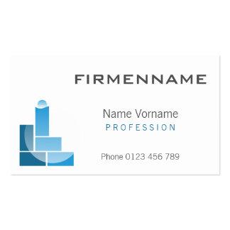 building craftsman pack of standard business cards