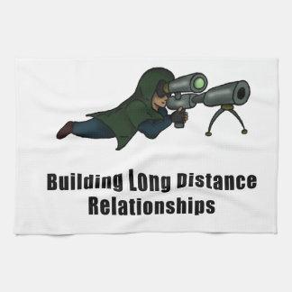 building long distance relationships hand towel