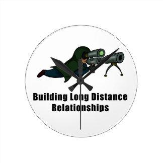 building long distance relationships wallclock