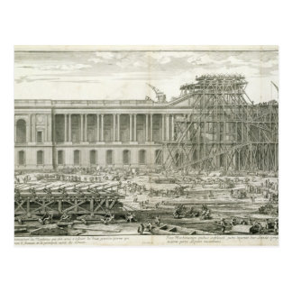 Building of the Main Entrance of the Louvre, Paris Postcard