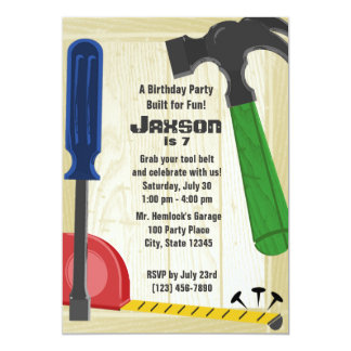 Building Party Card