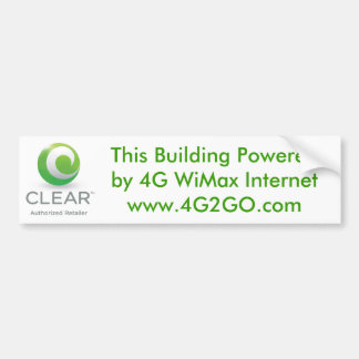 Building Power Bumper Sticker