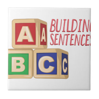 Building Sentences Tile