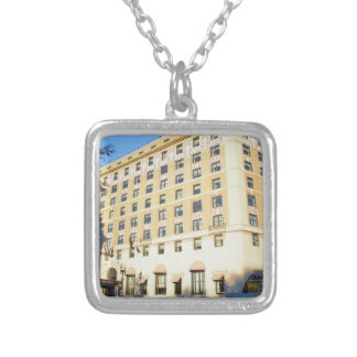 Building Silver Plated Necklace