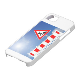 Building site, building site closing and building iPhone 5 case
