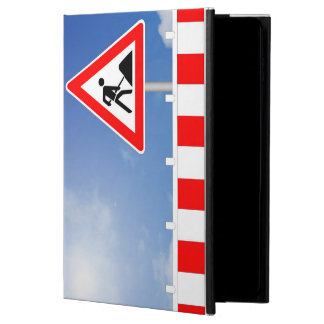 Building site, building site closing and building powis iPad air 2 case