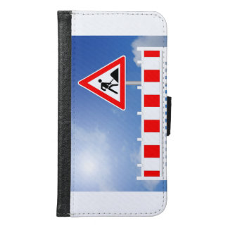 Building site, building site closing and building samsung galaxy s6 wallet case