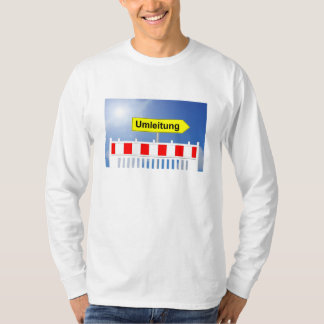 Building site, bypass and building site closing T-Shirt