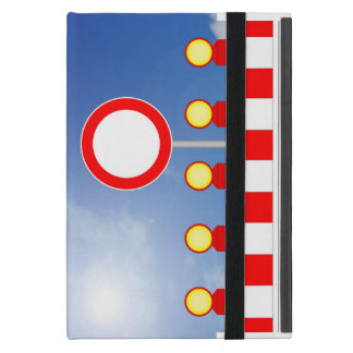 Building site closing and passage forbade Schil iPad Mini Cover