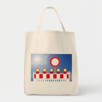Building site closing and passage forbade Schil Tote Bag