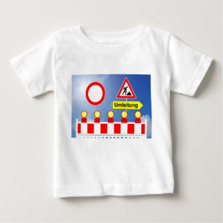 Building site passage forbade and bypass baby T-Shirt