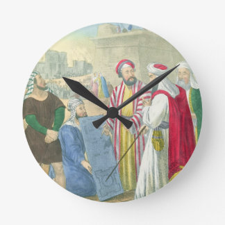 Building the City and the Tower of Babel, from a b Wallclocks