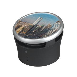 Buildings Along Sheikh Zayed Road, Dubai Bluetooth Speaker