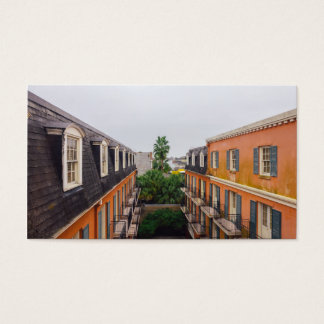 Buildings and Palm Trees in New Orleans Business Card